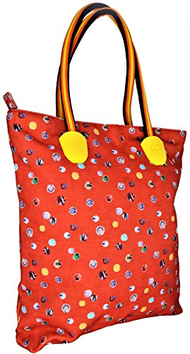 Borsa Spalla Donna Arancione K-Way Bag Woman K-Sun Ns Shopper Orange Falso Todas Las Tallas PNf7Idxq