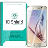 Galaxy S6 Screen Protector, IQ Shield® Tempered Ballistic Glass Screen Protector for Galaxy S6 99.9% Transparent HD and Anti-Bubble Shield - with Lifetime Warranty