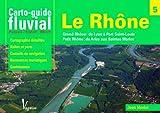 Carto guide fluvial le Rhône Français-Anglais-Allemand