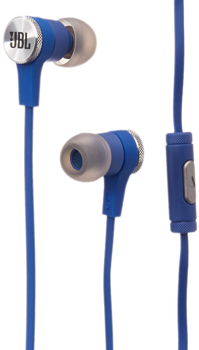 JBL Synchros E10 in-Ear Headphones (Blue)