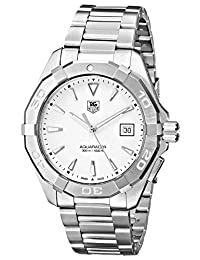 TAG Heuer Men's WAY1111.BA0910 Analog Display Quartz Silver Watch