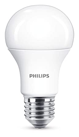 Philips (Regulable) 8718696706916 Bombilla LED, E27, 60 W, mate