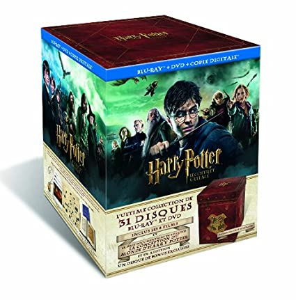 Harry Potter - Lintégrale des 8 films Francia Blu-ray: Amazon.es ...