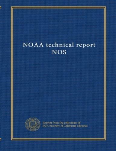 NOAA technical report NOS (v.45) PDF