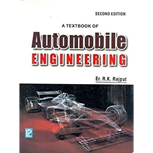 Textbook Of Automobile Engineering, 1/E