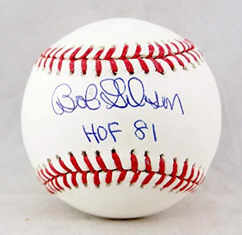 Bob Gibson Autographed Rawlings OML Baseball w/HOF 81 - JSA W Auth