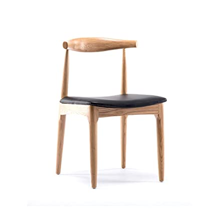 Amazon Com Zhao Ying Solid Wood Dining Chair Simple And Modern