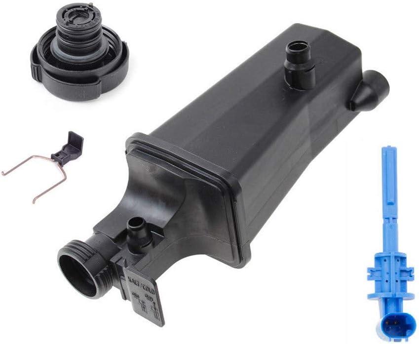 Expansion Tank + Cap+ Coolant Level Sensor For BMW E46 E53 E83 323i 328i 325i 330i X3 X5 2.5L 2.8L 3.0L