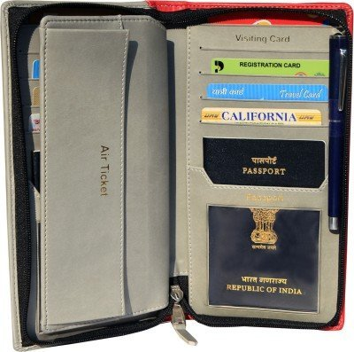 Sukesh Craft Men's Kouple - Passport Holder For 2 Passport One Size - Kouple