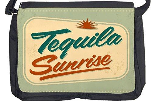 Borsa Tracolla Bar Party Tequila Sunrise Stampato