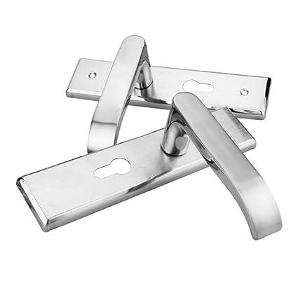 Cerradura de la puerta interior de acero inoxidable 304 cerradura de la manija mute Dormitorio de