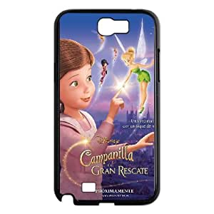 Samsung Galaxy N2 7100 Cell Phone Case Black Tinker Bell and the Great Fairy Rescue LNO Unique Custom Cell Phone Case