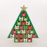 Know more about items before buyingMake christmas fun for child or adult with this count down advent calendar. It is handcrafted and made of sturdy MDF. Try filling the calendar with a fun mix of toys, candies and notes to make every December...