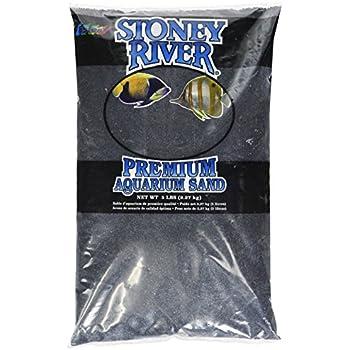 Estes Gravel Products AES06606 Este Marine Sand Black for Aquarium, 5-Pound