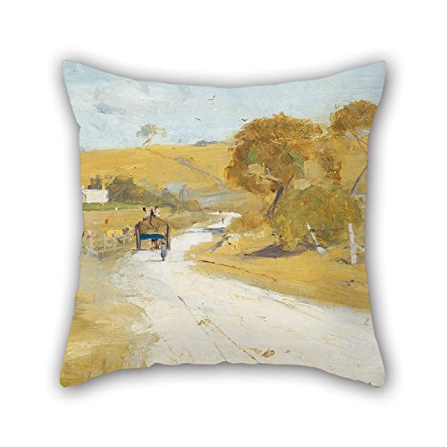 [Uloveme 20 X 20 Inches / 50 By 50 Cm Oil Painting Arthur Streeton - At Templestowe Throw Pillow Case ,twice Sides Ornament And Gift To Kids Room,bar] (The Pope Costume At The White House)