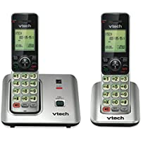 4COU Vtech CS66192 CS6619-2 Cordless Phone System, Base and 1 Additional Handset