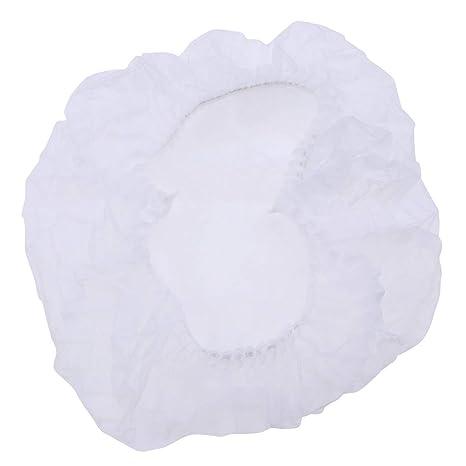 SUPVOX 100 unids cabeza de pelo cubierta neta no tejida polvo ...