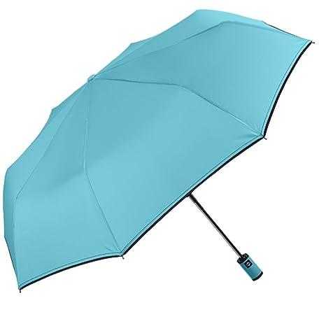 Paraguas para Mujer Perletti con Apertura y Cierre automáticos, antiviento, Plegable. Ultraligero,