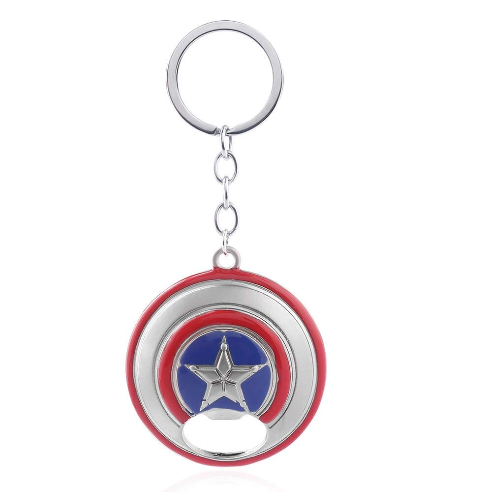 Amazon.com: Captain America Keychains The Avengers Letter A ...