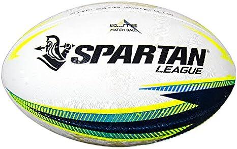SPARTAN Elite Rugby Liga Pelota, tamaño 5: Amazon.es: Deportes y ...