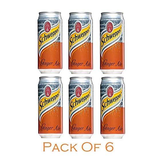 Schweppes (Ginger Ale, Pack of 6)