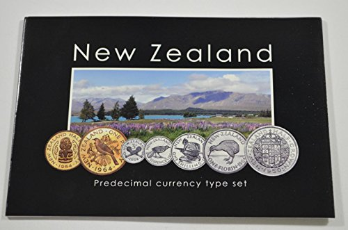NZ 2013 Coin Set - Pre-Decimal Currency Type Set Fine