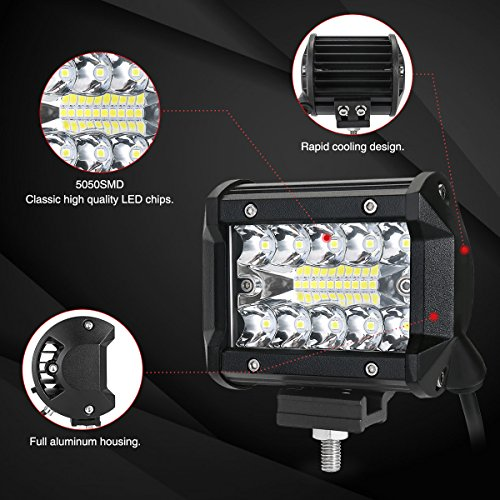 AMBOTHER-LED-Pods-4-Light-Bar-Spot-Flood-Combo-Beam-Off-Load-Work-Light-120W-Triple-ROW-LED-Cubes-Driving-Fog-Lamps-Waterproof-For-Pickup-Trucks-Jeep-ATV-UTV-SUV-Boat-Marine1-Year-Warranty2Pieces