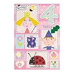 Ben & Holly S Little Kingdom Age 4 Birthday Card