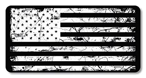 Novelty License Plate Custom Decorative Front Plate Cover for US Vehicles 4 Holes 12 X 6