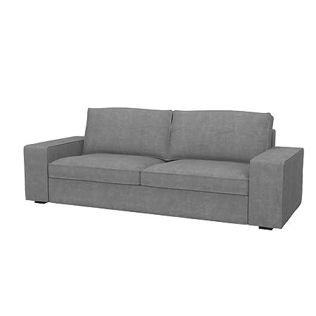 Kivik Divano Letto Ikea.Soferia Ikea Kivik Fodera Per Divano Letto A 3 Posti Soft Grey
