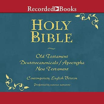 Amazon com: The Holy Bible: Old and New Testament (Audible Audio