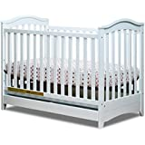 Athena Jeanie 3-in-1 Convertible Crib, White