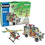 K'NEX 100 Model Building Set – 863 Pieces – Ages 7+ Engineering Educational Toy (Amazon Exclusive)