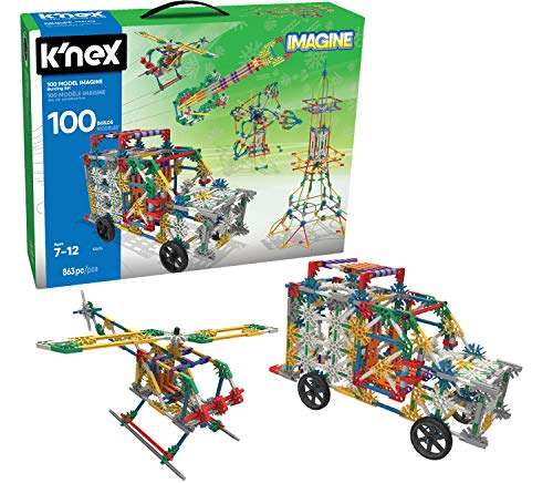 K'NEX 100 Model Imagine Building...