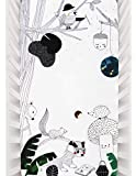 """Rookie Humans Organic Cotton Sateen Crib Sheets: Woodland Dreams, Rustic & Modern Crib Nursery Bedding & Decor, Fitted Mattress Sheets for Boys & Girls, Baby Shower Gift, Standard Size (52"""" x 28"""")"""