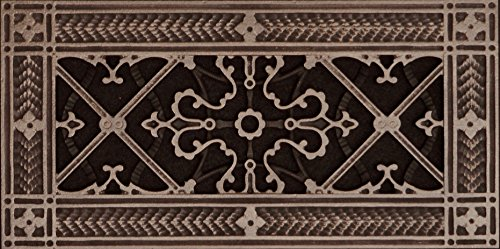 Decorative Grille, Vent Cover, or Return Register. Made of Urethane Resin to fit over a 4