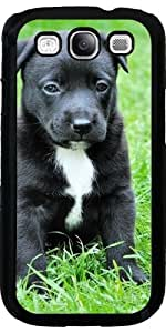 Funda para Samsung Galaxy S3 (GT-I9300) - Perro Negro by WonderfulDreamPicture