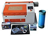 kohstar Mini CNC 50W 400300mm engraving area CO2 Laser Engraving Machine TS4030 with USB Interface laser engraver