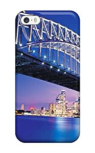 CaseyKBrown Scratch-free Phone Case For Iphone 5/5s- Retail Packaging - Sydney Bridge