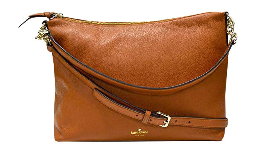 Kate Spade New York Alena Larchmont Avenue Shoulder Bag Handbag (Warm Cognac)