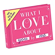 Knock Knock What I Love about You Fill in the Love Book Fill-in-the-Blank Gift Journal, 4.5 x 3.25-Inches