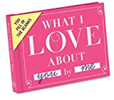 Knock Knock What I Love about You Fill in the Love Book Fill-in-the-Blank Gift Journal