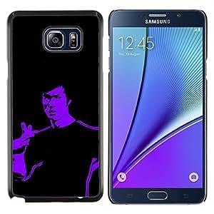 Queen Pattern - FOR Samsung Note 5 N9200 N920 - Karate Superhero Kung Fu - Cubierta del caso de impacto con el patr???¡¯???€????€?????n Art