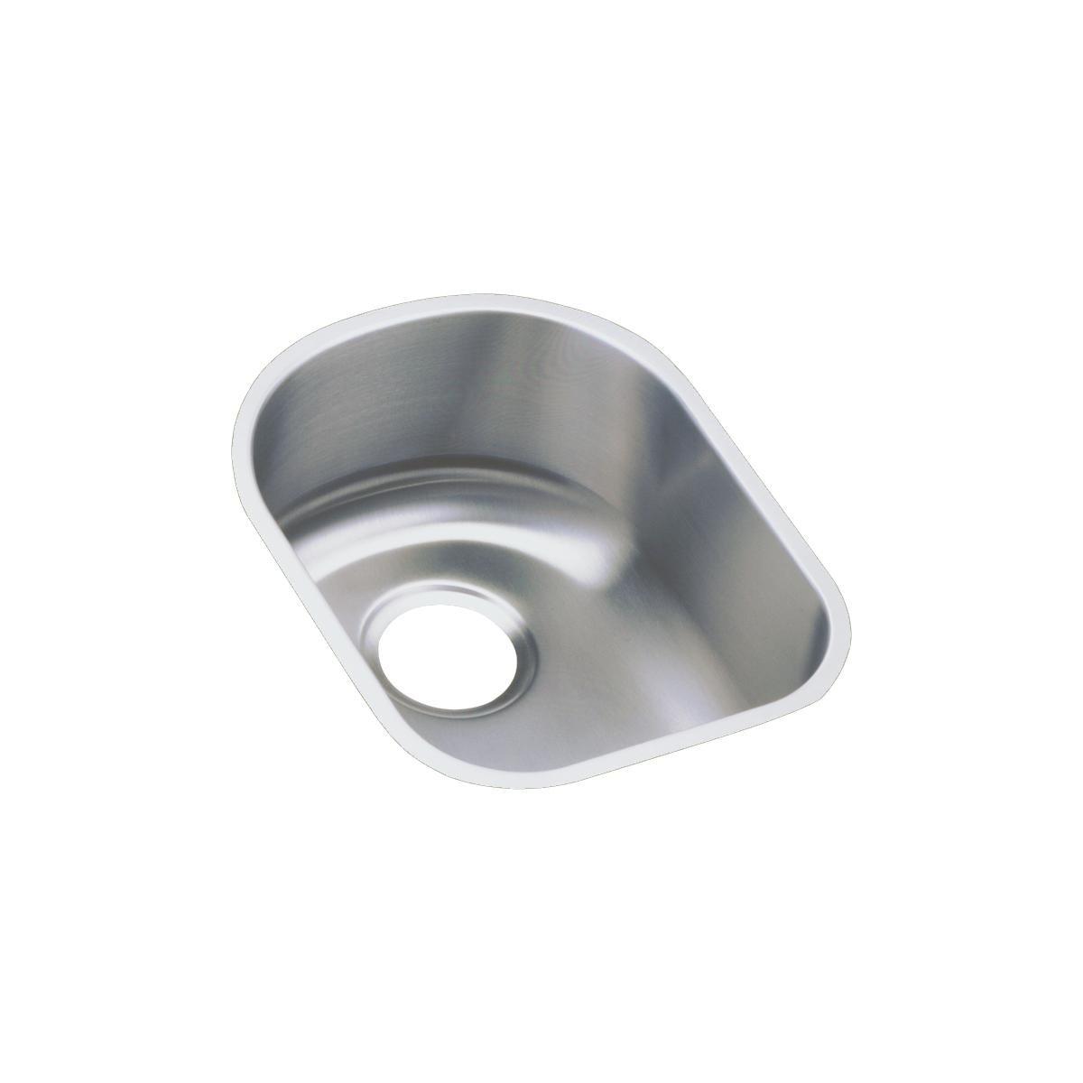 Elkay ELUH1317 Lustertone Classic Single Bowl Undermount Stainless Steel Sink