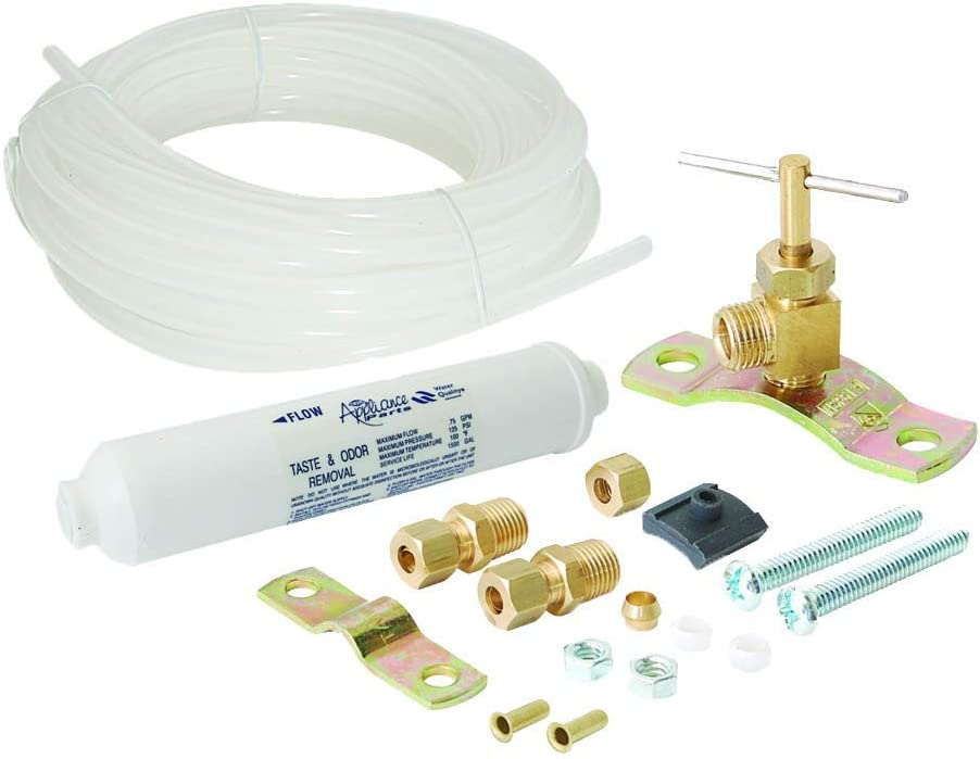 Eastman 48355 Polyethylene Tubing Ice Maker/Filter Kit with Self-Piercing Saddle Valve