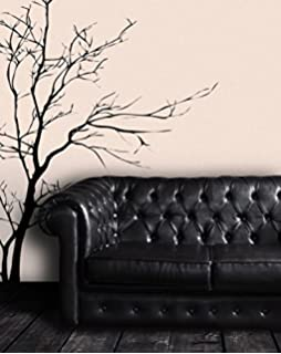 Nice Stickerbrand Nature Vinyl Wall Art Bare Tree Branch Wall Decal Sticker    Black, 60 Part 24