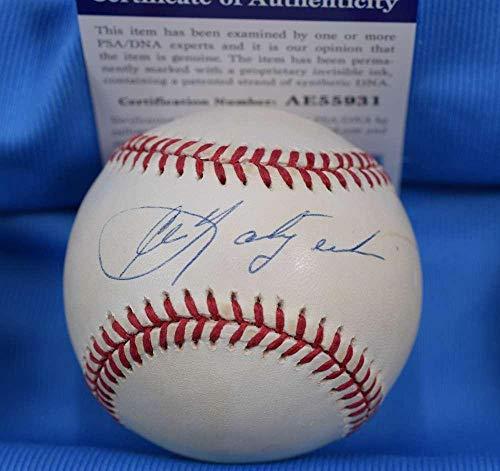 Carl Yastrzemski Signed Ball - Coa American League OAL - PSA/DNA Certified - Autographed Baseballs (Oal Ball Baseball)
