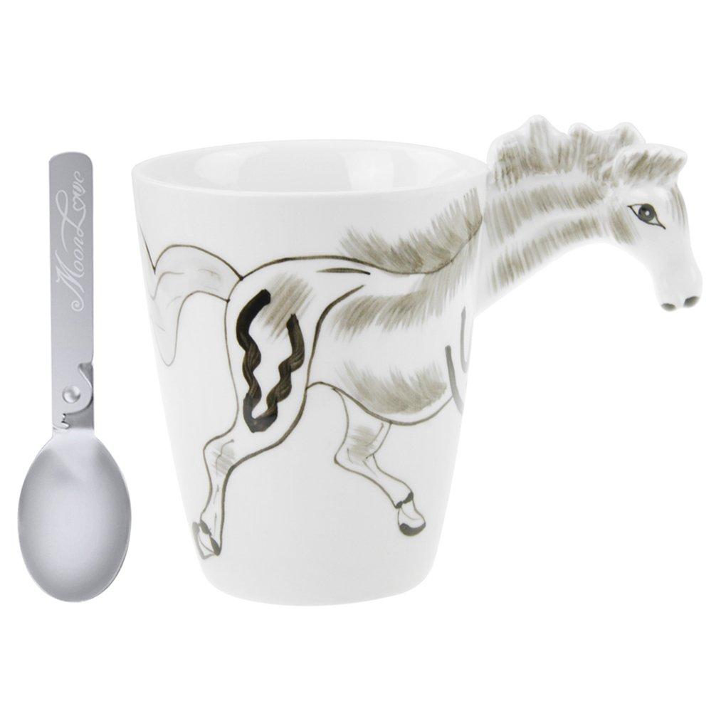 3D Tier Tasse Keramik Tassen mit Löffel Tier Keramik Geschenke Deko ...