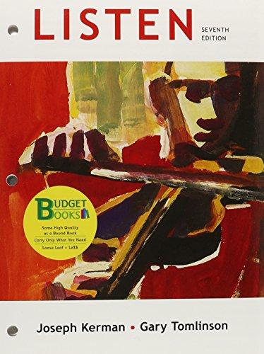 Loose-leaf Version of Listen 7e & 6-CD Set