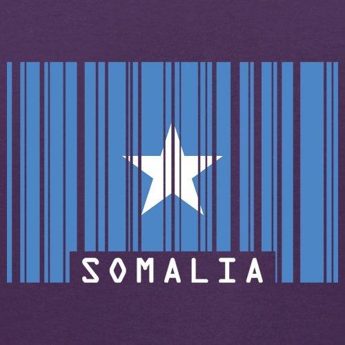 Somalia / Bundesrepublik Somalia Barcode Flagge - Herren T-Shirt - Lila - S